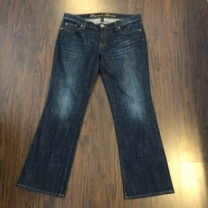 Gap jeans boot cut size 12 actual 36W 30 L -Z7